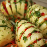 healthy potatoes baked